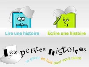 Site internet : Les petites histoires